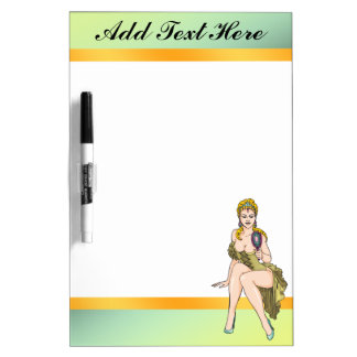 Fairy Tale Princess Dry Erase Board