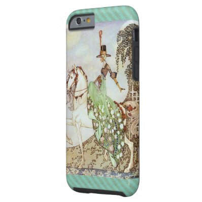 Fairy Tale Princess Riding a White Horse Tough iPhone 6 Case