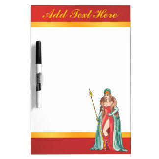 Fairy Tale Queen Dry Erase Board