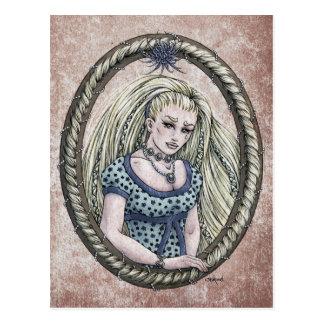 "Fairy Tale ""Rapunzel"" Fantasy Art Postcard #1"