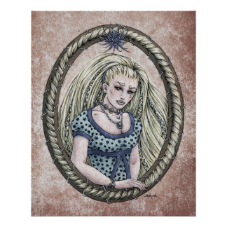"""Fairy Tale """"Rapunzel"""" Glossy Perfect Poster"""