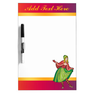 Fairy Tale Red Riding Hood Dry Erase Board