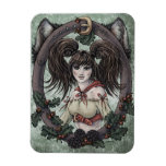 """Fairy Tale """"Red Riding Hood"""" Fantasy Art Magnet #1"""