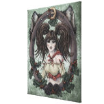 """Fairy Tale """"Red Riding Hood"""" Fantasy Canvas Print"""