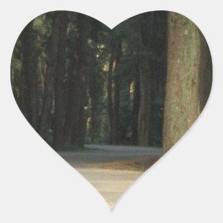 Fairy Tale Road Heart Sticker