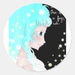 Fairy Tale Round Sticker