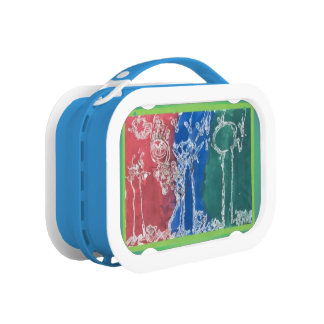 Fairy Tale Scratched Color Picture Lunch Box