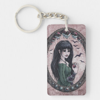 "Fairy Tale ""Snow White"" Fantasy Art Keychain #2"