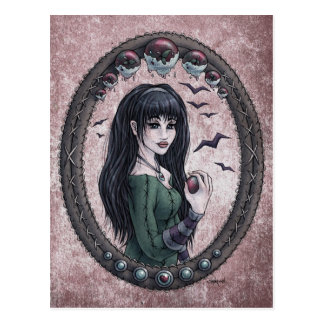 "Fairy Tale ""Snow White"" Fantasy Art Postcard #1"