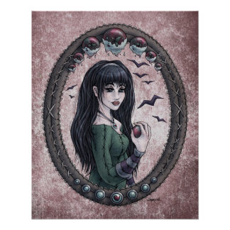 "Fairy Tale ""Snow White"" Glossy Perfect Poster"