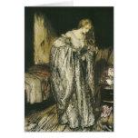 Fairy Tale Sparkle Dress by Arthur Rackham Card