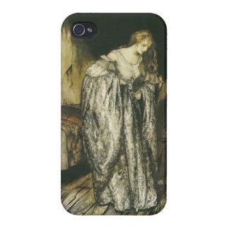Fairy Tale Sparkle Dress by Arthur Rackham iPhone 4/4S Cases