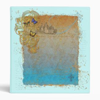 Fairy Tale Storybook Castle Binder Notebook