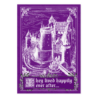 Fairy Tale Storybook Wedding Place Cards Business Card
