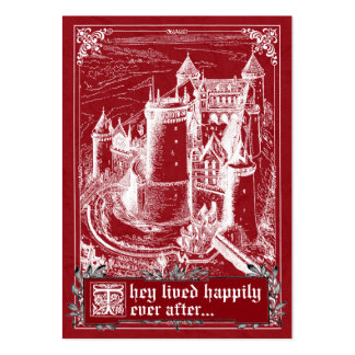 Fairy Tale Storybook Wedding Place Cards Business Card Templates