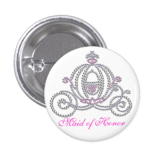 Fairy tale Theme Maid of Honor Button