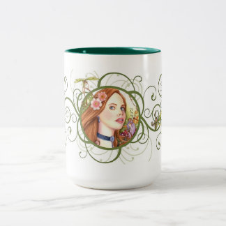 Fairy Tale Two-Tone Coffee Mug