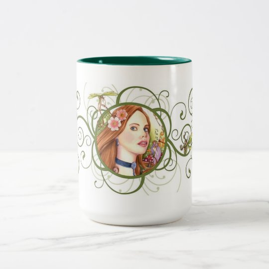 Fairy Tale Two-Tone Coffee Mug