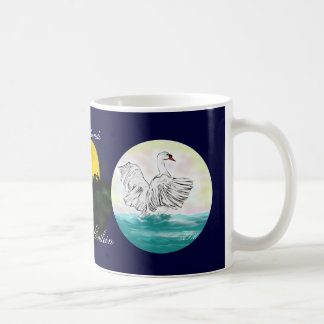 Fairy tale - ugly Entlein - dtsch. Classic White Coffee Mug