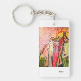 fairy tale  Valentine Keychain