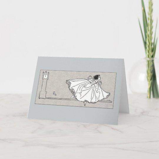 Fairy Tale Vintage Cinderella Birthday Card Zazzle