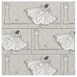Fairy Tale Vintage Cinderella Fabric