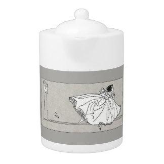 Fairy Tale Vintage Cinderella Teapot