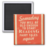 Fairy Tales 2 Inch Square Magnet