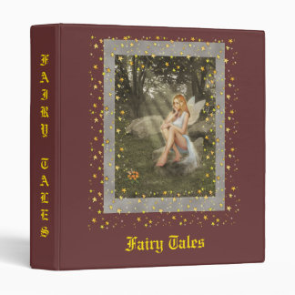 Fairy Tales 3 Ring Binder
