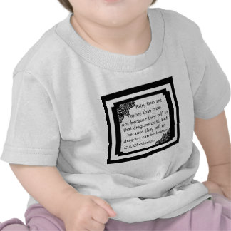 Fairy Tales Are... Baby Clothes Tshirt