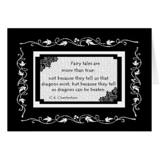 Fairy Tales Are Greeting Card