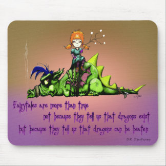 Fairy tales are more than true mouse pad