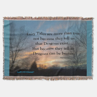 FAIRY TALES CUSTOM THROW BLANKET