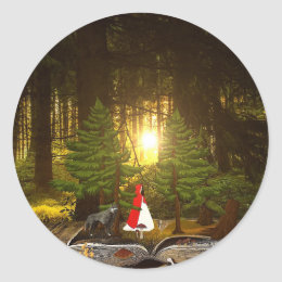 Fairy Tales - Customize Me! Classic Round Sticker