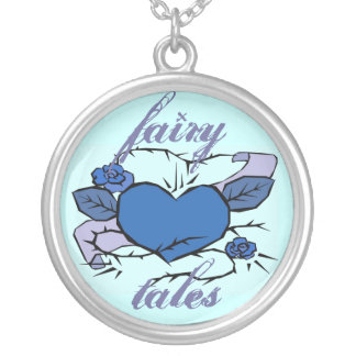 fairy tales vintage tattoo necklace