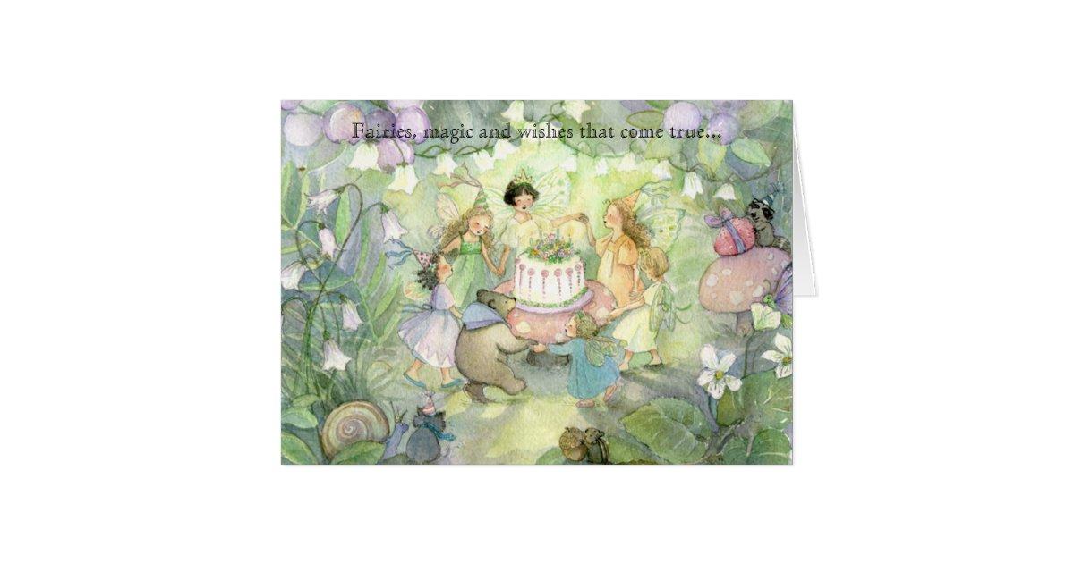 Fairy tea party invitations | Zazzle.com