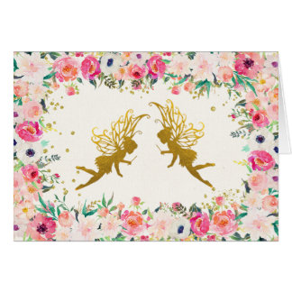 Fairy Thank You Card
