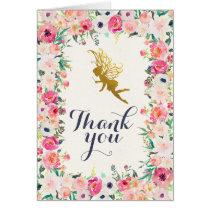 Fairy Thank You Card