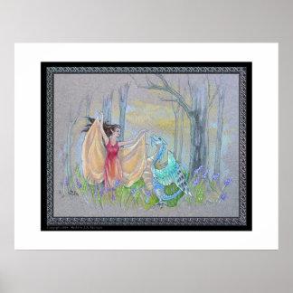 Fairy & the Bird Dragon Poster