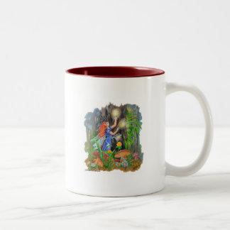 Fairy & the Magical Willow Wisps Two-Tone Coffee Mug