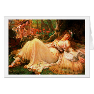 "Fairy ""Titania"" painting Card"
