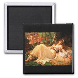 "Fairy ""Titania"" painting Magnet"