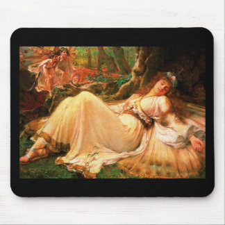 "Fairy ""Titania"" painting Mouse Pad"