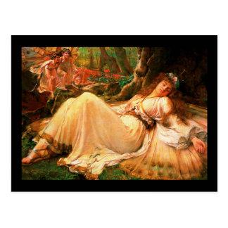 "Fairy ""Titania"" painting Postcard"