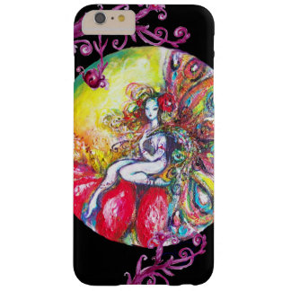 FAIRY TITANIA SITTING ON A RED FLOWER BARELY THERE iPhone 6 PLUS CASE