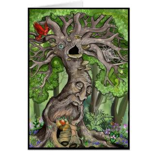 Fairy Tree Home Card