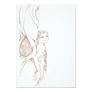 Fairy Tree Personalized Invitation
