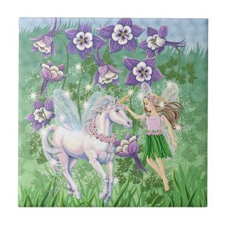 Fairy Unicorn tile