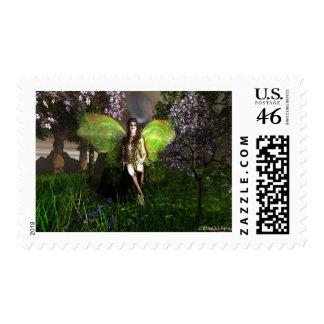 Fairy Vineglitter Stamp