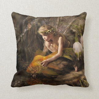 Fairy w/Goldfish Pillow